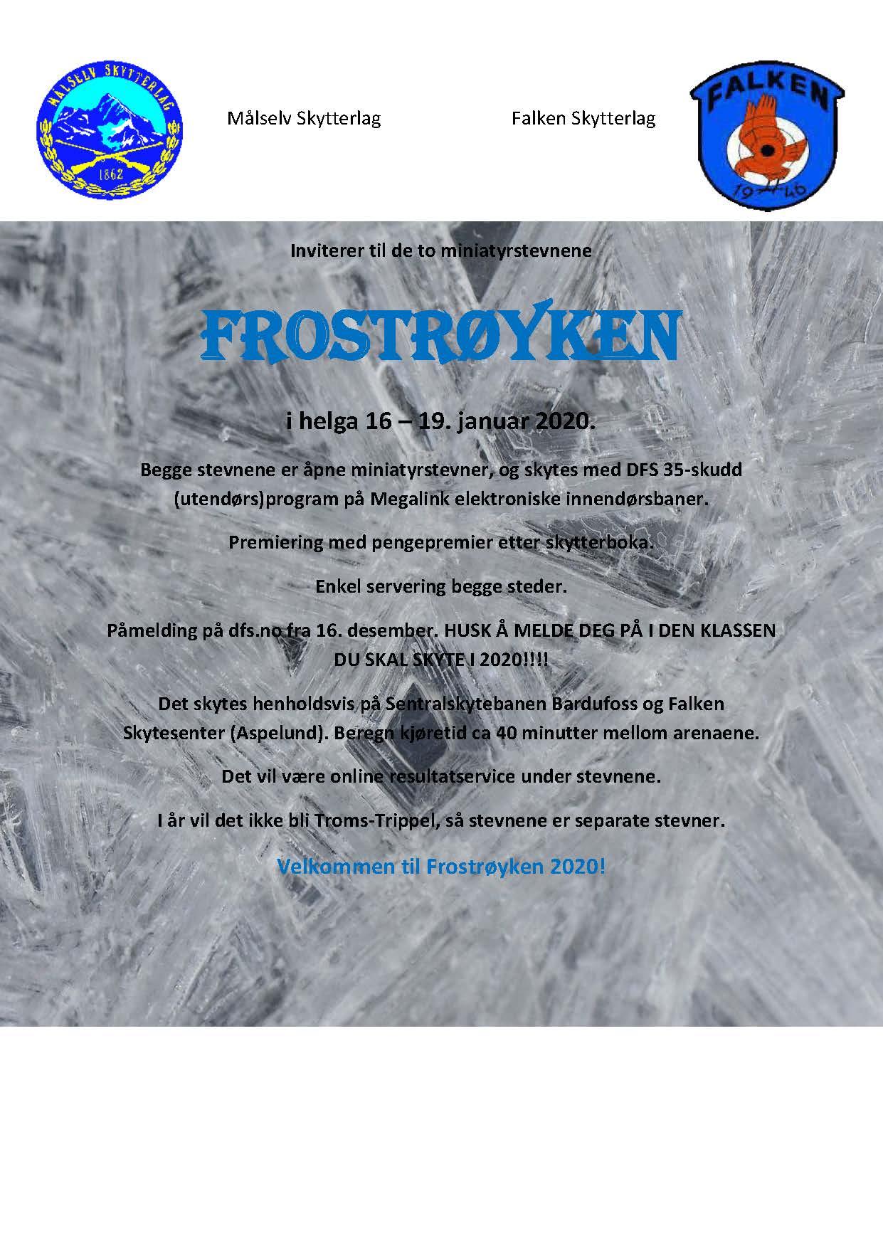 Innbydelse Frostrøyken 2020