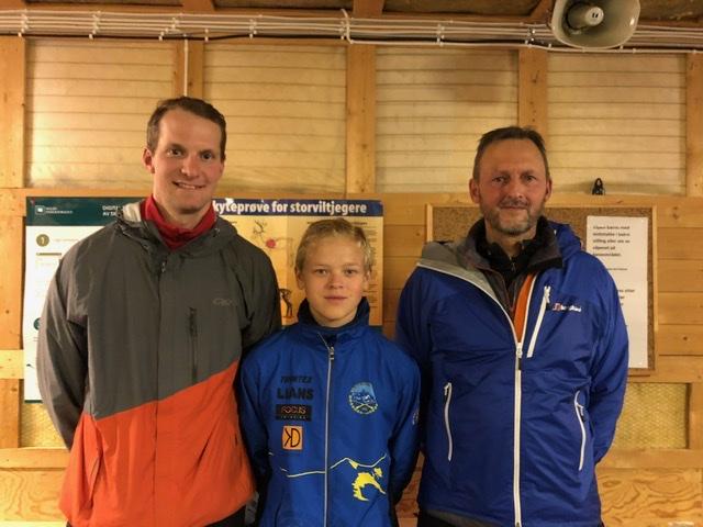 Ole Anders, Ervin og Stein Hugo ble alle samlagsmestere i skogsløp med skyting